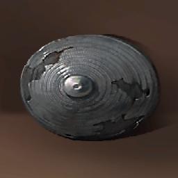 リング模様の青銅盾(ブロンズシールド)の画像
