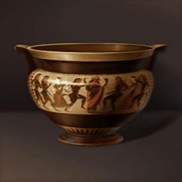 酒神の祭典の陶器(酒神の祭典)の画像