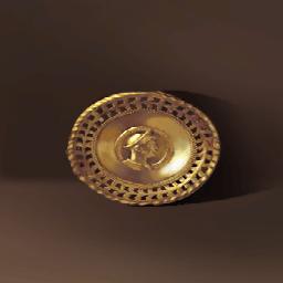 黄金のブローチ(胸元の財宝)の画像