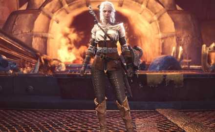 Ciri Layered Armor