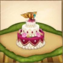 希望のウェディングケーキ