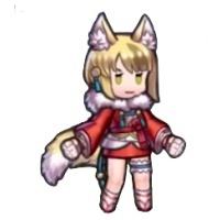 キヌのミニキャラ