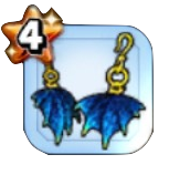星霊龍のイヤリング