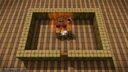 お城の食堂タイプ1