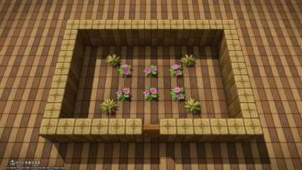 花のさいている部屋