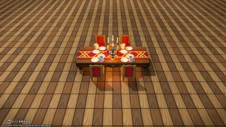 王の食事テーブルタイプ1