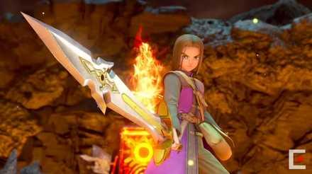 スイッチ版主人公と勇者の剣