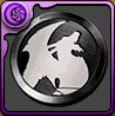 イベントメダル【黒】の画像