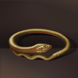 ポンペイの蛇の腕輪(ポンペイの金の蛇)の画像