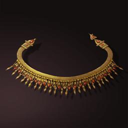 ガーネットネックレス(先人の装飾品)の画像