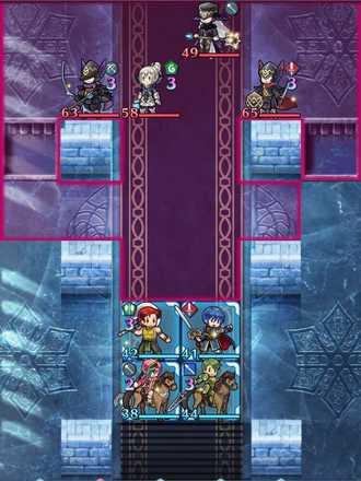 縛鎖の第19迷宮:第1ステージのマップ画像