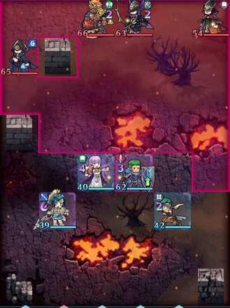 縛鎖の第19迷宮:第2ステージのマップ画像