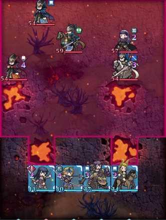 縛鎖の第19迷宮:第3ステージのマップ画像
