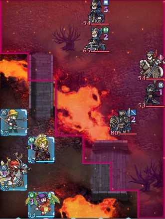 縛鎖の第19迷宮:第4ステージのマップ画像