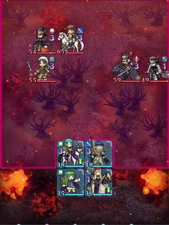 縛鎖の第19迷宮:第5ステージのマップ画像