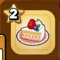 ショートケーキのアイコン