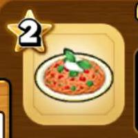 トマトスパゲッティのアイコン