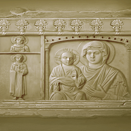 象牙の聖母像(象牙製宗教像)の画像