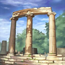 オリンピア遺跡(千年前の競技)の画像