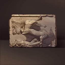 ケンタウロス浮き彫り(欠けたケンタウロス)の画像