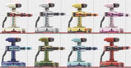 ロボットのカラーバリュエーション