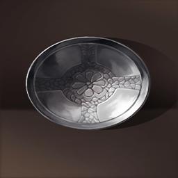 ビザンチン式銀の器(精巧な作りの銀碗)の画像
