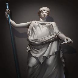 ヘラの像(嫉妬の怒り)
