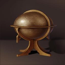 銅の星の計器(天体観測測定器)の画像