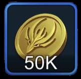 ゴールド50000の画像