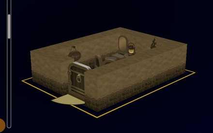 ペロの個室の設計図