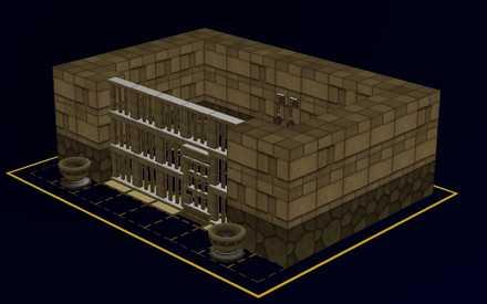地下牢の設計図