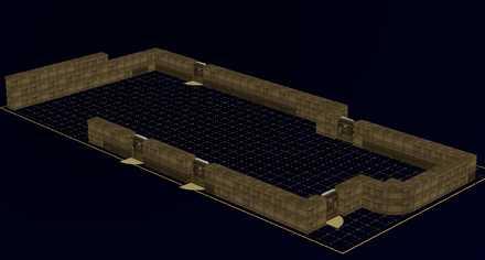 城壁の設計図