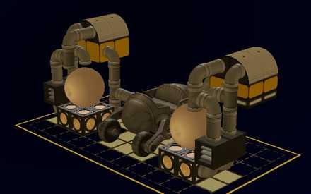 改造ガレージの設計図