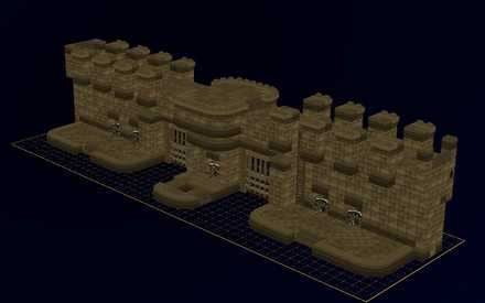 城門の設計図