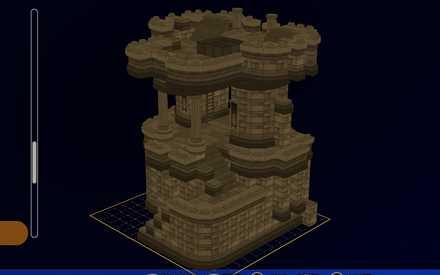 主塔の設計図