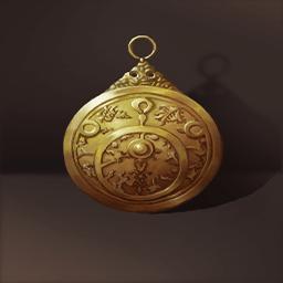 黄銅の星図盤(惑星観測の皿)の画像