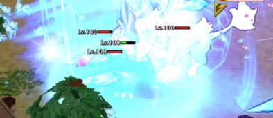 突進攻撃の画像