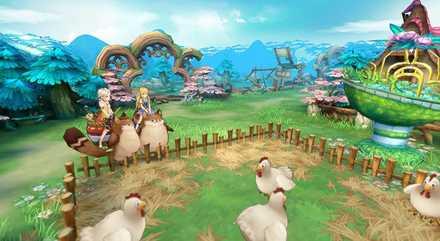 アッシュテイル 農場
