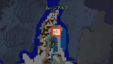 キースドラゴンの場所2