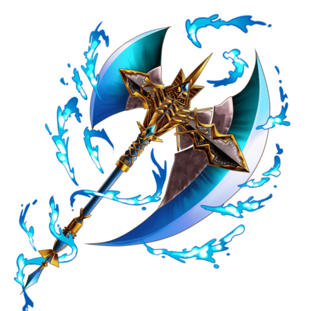 獣斧ラグナロク【水】