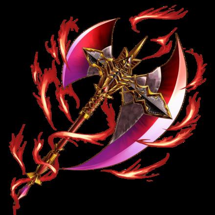 獣斧ラグナロク【火】の画像