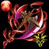 獣斧ラグナロク【火】のアイコン