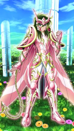 アンドロメダ星座の神聖衣 瞬の画像