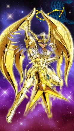天蠍座神聖衣 米羅(雙節棍)の画像