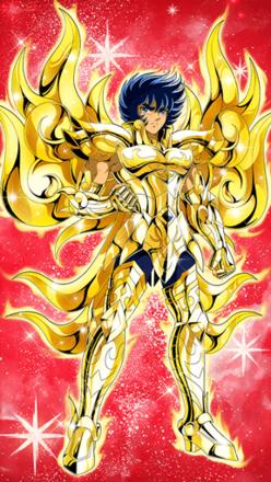 獅子座の神聖衣 一輝