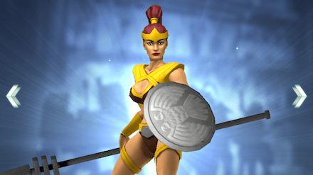 アマゾンの女戦士の画像