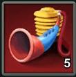 戦旗角笛の画像