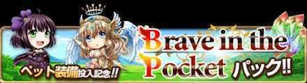 Brave in the Pokcet パック