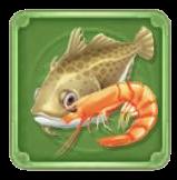 新鮮な魚介の画像