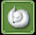 銀狐の皮の画像